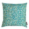 Clarissa Hulse Kingfisher/Peacock Garland Silk Cushion, 45x45cm