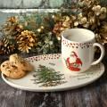 Spode Christmas Tree Cookies for Santa & Mug