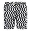 Love Brand & Co Black Heads Or Tails Swim Shorts