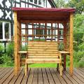 Charles Taylor Deluxe Burgundy Wentworth Two Seat Arbour