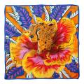 Alber Zoran Multi Animal/Floral Printed Scarf