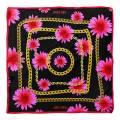 Alber Zoran Multi Floral/Chain Printed Scarf
