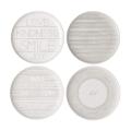 Royal Doulton Set of 4 Ellen Degeneres Accents Plates, 21cm