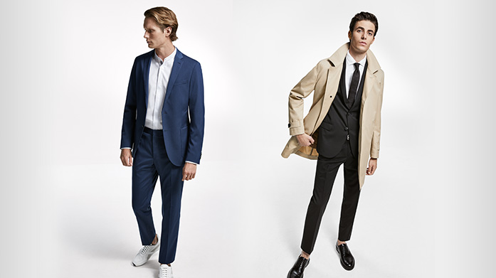 BOSS Menswear Whatever the occasion, ensure you look the part in classically elegant menswear by BOSS. Our new edit features expertly tailored suits and casual everyday wear. Suits from £199.