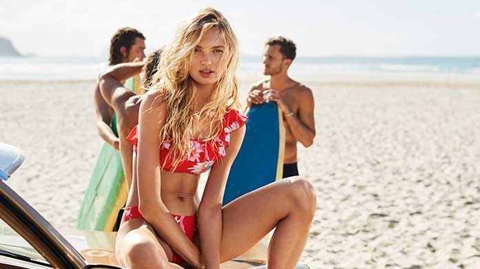 New Seafolly & Milea This brand new edit of premium swimwear by Seafolly and Milea features sculpting swimsuits, gorgeous kaftans, shape-enhancing bikinis and more!