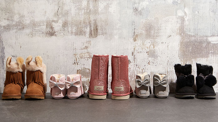 UGG Kids: Last Chance for Christmas Get your little one or mini family member a wonderfully soft pair of kids UGG boots, slippers or booties for Christmas!