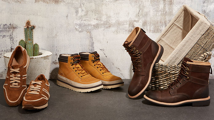 UGG Men's: Last Chance for Christmas Shop men's UGG boots, sheepskin boots, leather trainers and suede brogues in time for those all important Christmas gifts...