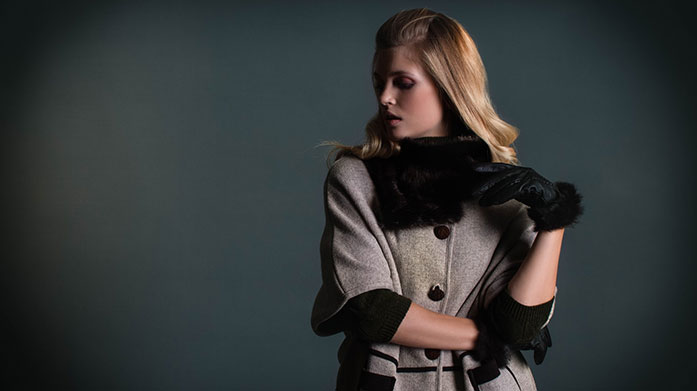 Luxury Shearling Scarves Wrap up in a luxury shearling scarf this season to ensure keep warm and look fabulous! Shop matching mittens and headbands too.