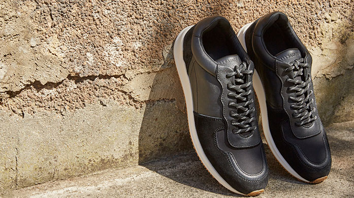 Autumn Sneakers for Him The latest sneaker designs from the most coveted collections from Fred Perry, Adidas Y-3, Excelsior and more.