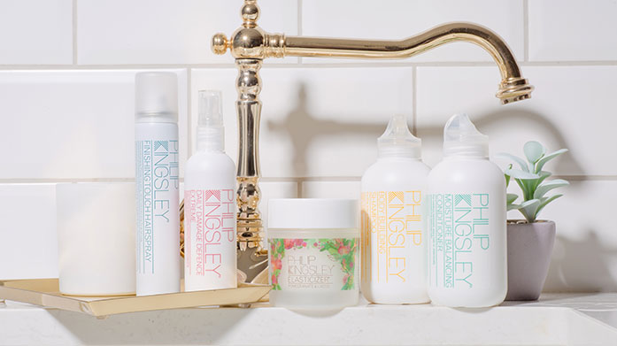 Philip Kingsley Treat yourself to Philip Kingsley's award-winning shampoos, conditioners, hair styling products and world-renowned elasticizer in a range of scents.