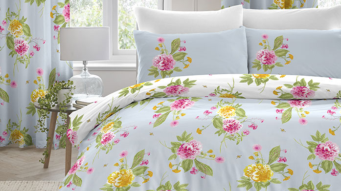 Patterned Picks Bed Linen Turn your bedroom into a space of relaxation with our selection of patterned bed linen. There's a style and shade for every home!