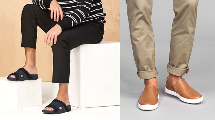 bd7800f0ed1cf FitFlop: New Collection Men's Explore locations off the beaten track in  FitFlop's stylish, ergonomic shoes.