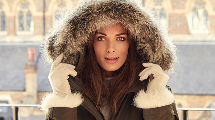 Ski Trip Ready Prepare for your ski season with this classically stylish collection of ski accessories, cashmere gloves, faux fur cover-ups and designer sunglasses.