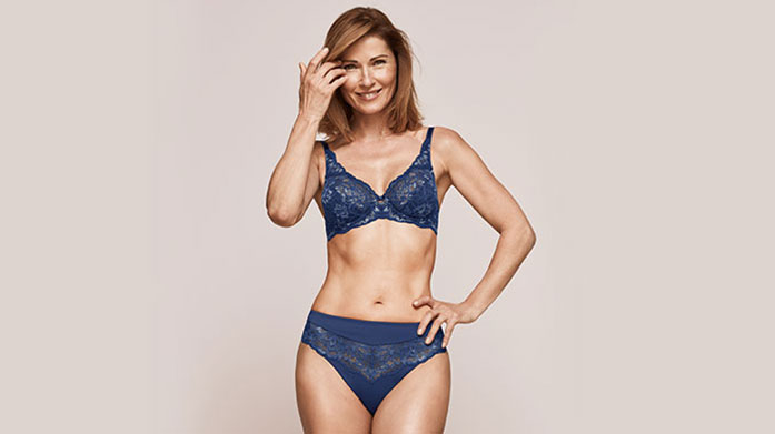 Treat Yourself With Triumph Up your confidence and feel fabulous at home with this sultry edit of Triumph lingerie. Shop lace bodysuits, bras and briefs.
