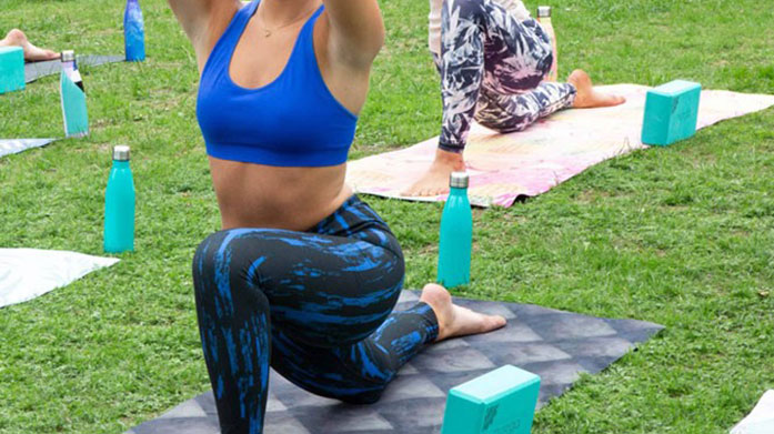 Yoga Essentials Ace your yoga workouts with our edit of yoga essentials, from gym leggings and vest to yoga mats and water bottles.
