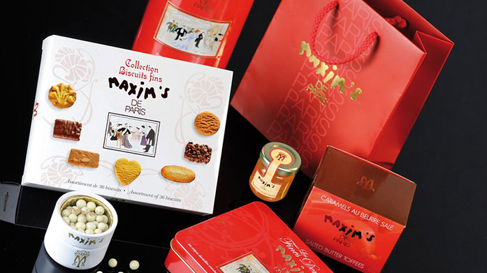 Maxim's de Paris Chocolates Indulge in velvety smooth assorted chocolates and sweet gifts from renowned French chocolatier, Maxim's de Paris.