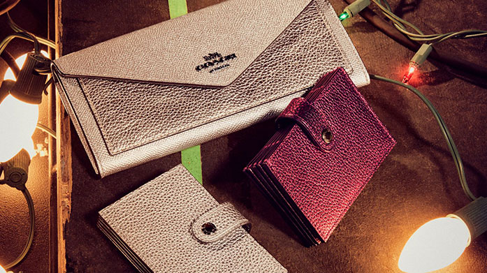 Matchy Matchy Accessories Achieve that polished, put-together look with matching accessories by Coach, Aspinal of London, Kate Spade and Radley.