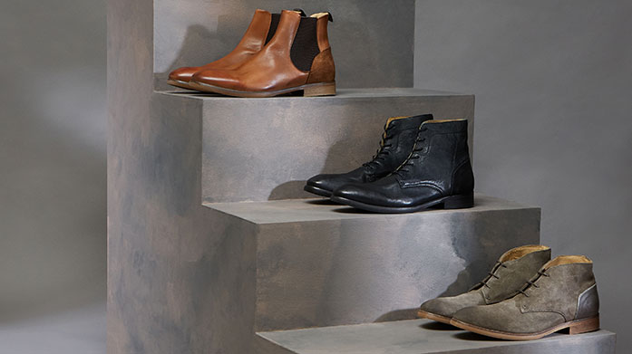 Hudson London: Vintage Wash Footwear