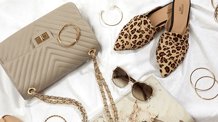 Accessories for Spring Made Easy  Make spring dressing a breeze with a little treat from this edit of luxe hair accessories, designer sunglasses and statement jewellery.