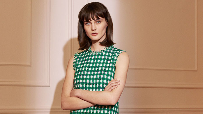 L.K. Bennett Clearance Our L.K. Bennett clearance features ready-to-wear favourites focused on a modern blend of femininity and style. Dresses from £49.