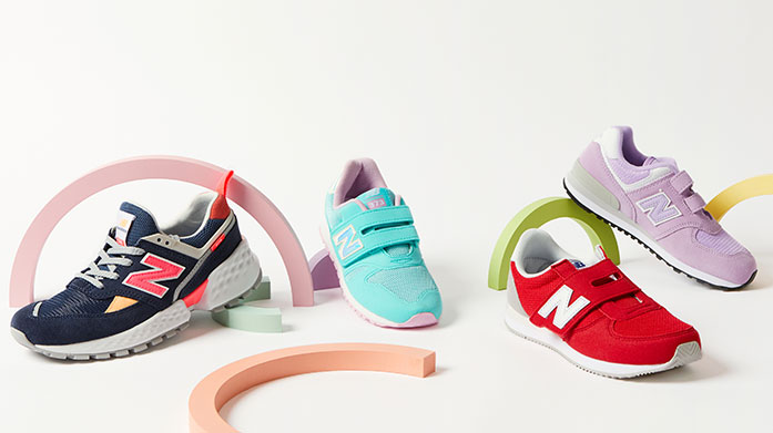 Kids Trainer Edit Keep little feet active with our edit of kids trainers and sneakers from New Balance and Superga. Shop boys and girls footwear up to 60% off.