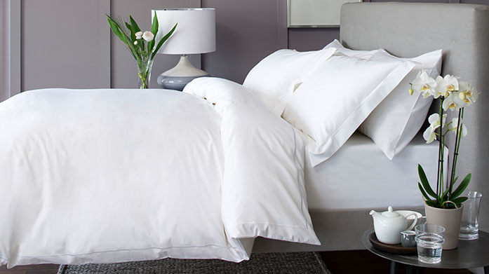The White Room Linens Redress your bedroom with this classic collection of crisp white bed linen from The Lyndon Company. Shop duvet sets, sheets and pillowcases.
