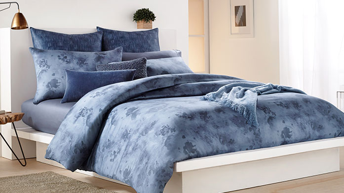 DKNY Bed Linen DKNY's wintry designs and soft linen make their bedding an ideal choice for cold winter nights.