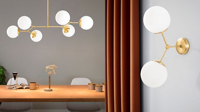 New Season Decortie Lighting Finish off a stylish new interior with Decortie's contemporary overhead lights, fitted lamps and lighting fixtures from this new season sale.