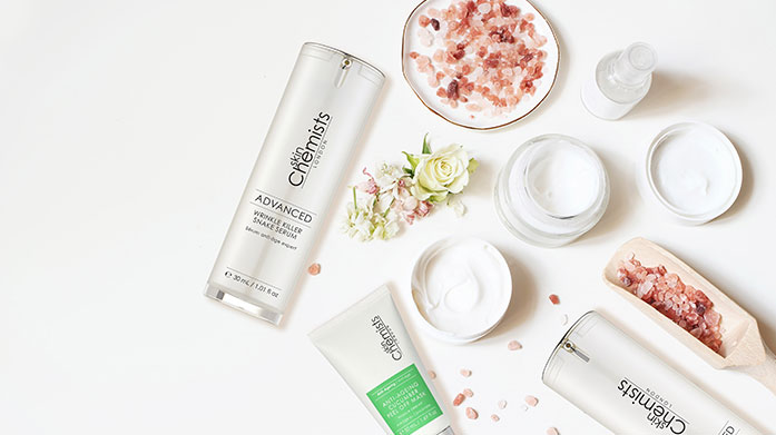 Skin Chemists skinChemists' range of anti-ageing, rejuvenating products are just what your skincare routine needs this. Shop now and get the glow.
