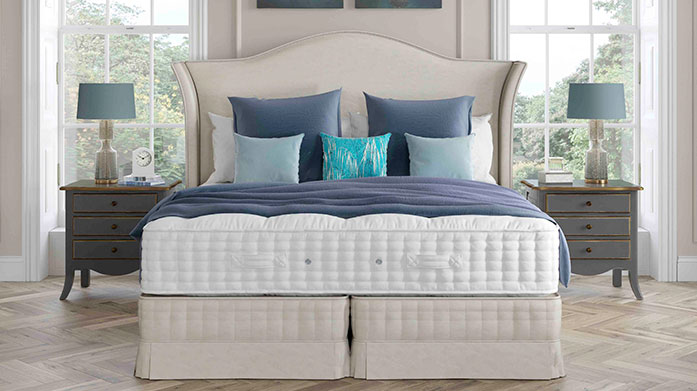 Relyon: The Premium Heritage Mattress Collection Relyon's premium heritage mattresses are hand-tufted with pocketed springs and anti-allergen materials.