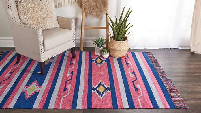 Boho Brights: Rugs Under £150 Elevate your interiors with a touch of boho chic style and treat yourself to one of these vibrant, bohemian rugs. Shop styles under £150!