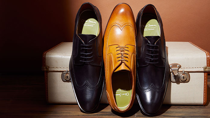 Brogues & Derbies Look forward to future occasions with a dapper pair of men's brogues or derbies from this edit of formal footwear by ALDO, Bally and D&G.