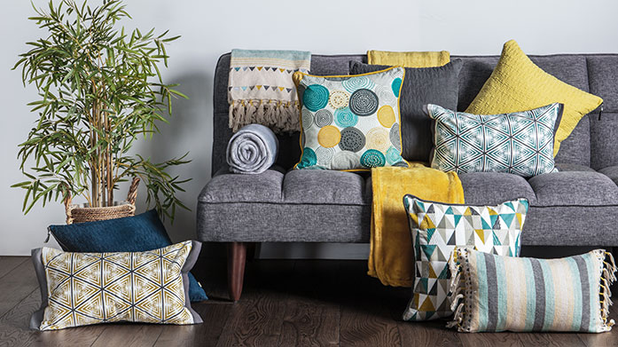 Hygge Home Embrace the hygge lifestyle and update your decor with chic and minimalist Scandi-designed cushions, throws and decorative accessories.