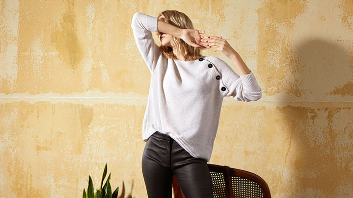The Cashmere Edit Stock up on luxury cashmere essentials in our edit of cashmere jumpers and sweatshirts