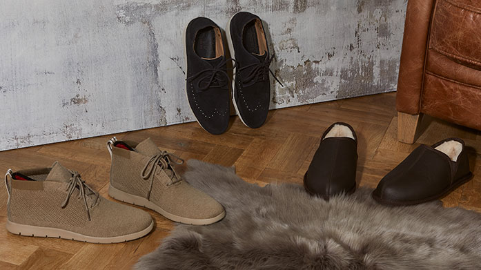 Men's Autumn Shoe Essentials Step into autumn in a new pair of brogues, sneakers or boots by Hunter, Oliver Sweeney, Reiss or Kurt Geiger. The new season has arrived!