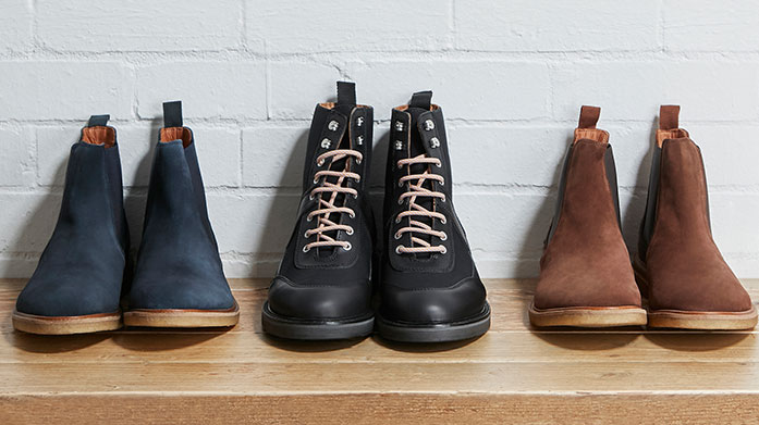 Kick Start Your Winter: Boots Kick start the season with a new pair of winter boots from men, including leather chelsea boots, ankle boots or hiking boots.