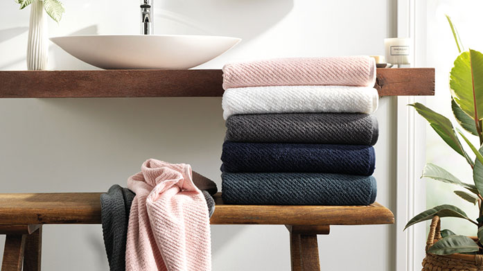 Designer Towels Wrap yourself in luxury and relax with our collection of designer towels by Sheridan, BOSS, Orla Kiely and Peacock Blue.