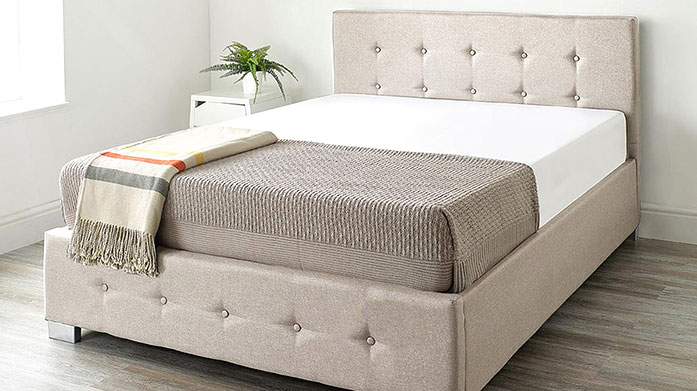 Luxury Beds for Guests Browse our collection of stylish, luxury linen Ottoman beds, just in time for Christmas visitors, also available a choice of mattress sets.