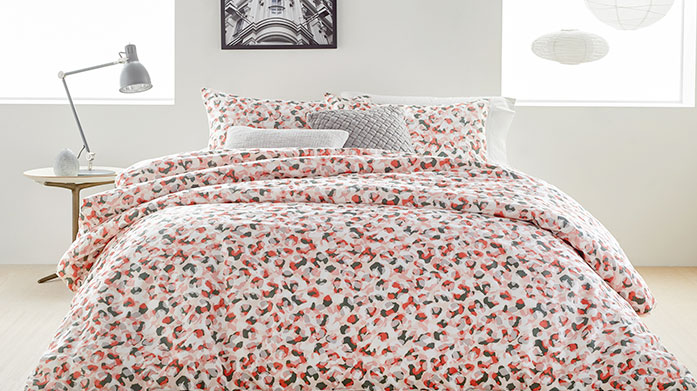 DKNY Bed Linen New bedding just in! DKNY's clean and classic designs and soft linen make their bedding an ideal choice for hot summer nights.