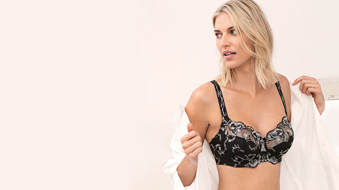 Fantasie Lingerie  Dream-like lingerie from Fantasie includes beautifully refined DD+ bras, briefs and suspenders in a range of intricate designs.