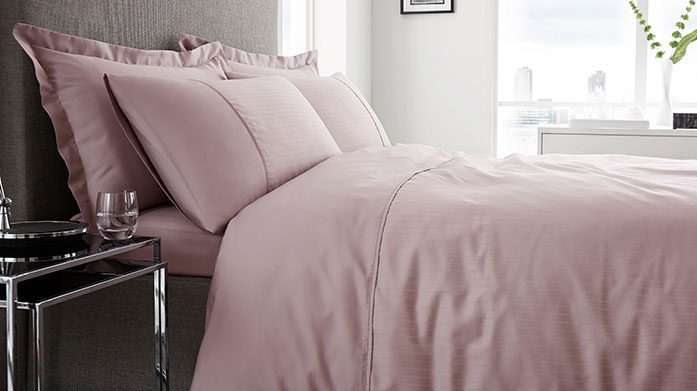 Luxe Linens Improve your sleep this Sleeptember with our range of luxury linens from classic white duvet sets to pastel-coloured fitted sheets.