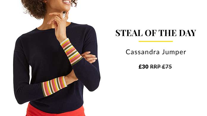 Steal of the Day: Boden Cassandra Jumper