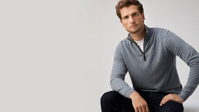 Men's Jumpers for Christmas Browse our classic yet stylish collection of men's Christmas jumpers by Reiss, Hackett London, Bagutta and BOSS. Jumpers from £39.