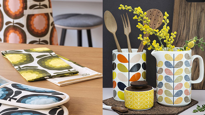 Orla Kiely: Kitchen & Dining Shop all things Orla Kiely from this charming selection of kitchen and dining accessories. Vintage inspired homeware awaits...