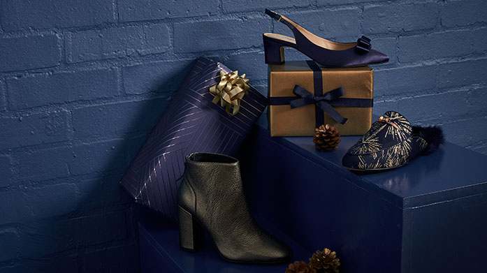 Step Into Christmas: Women's Step into Christmas in your most glamorous pair of shoes yet! Shop stilettos, heels, flats and court shoes in a range of styles.