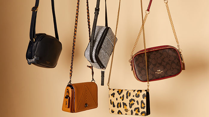 Women's Autumn Style Edit Accessorise your autumn outfits with classic leather handbags, purses, keyrings, scarves and more.