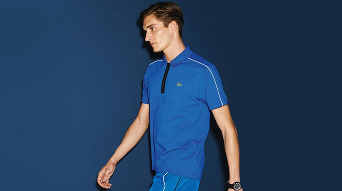 Lacoste Menswear Embrace a contemporary athletic look with our collection of men's polos, jumpers and jackets by Lacoste. Polo shirt's from £39.