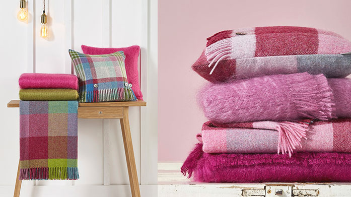 Bronte by Moon Throws As the nights draw in and get colder, wrap up warm this winter in an ultra-soft throw by Bronte by Moon.