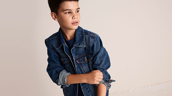 New Levi's® Boyswear Keep your little man looking as smart (and as stylish) as can be and invest in a pair of Levi's jeans for him.