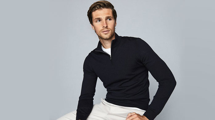 Men's Jumpers for January Start the new year with a new jumper and warm yourself up in cashmere, wool and cotton knits from brands such as Reiss, Hackett and BOSS. Jumpers from £25.